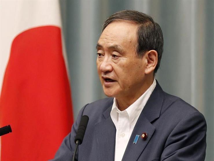 رئيس الحكومة اليابانية الجديد يوشيهيدي سوجا