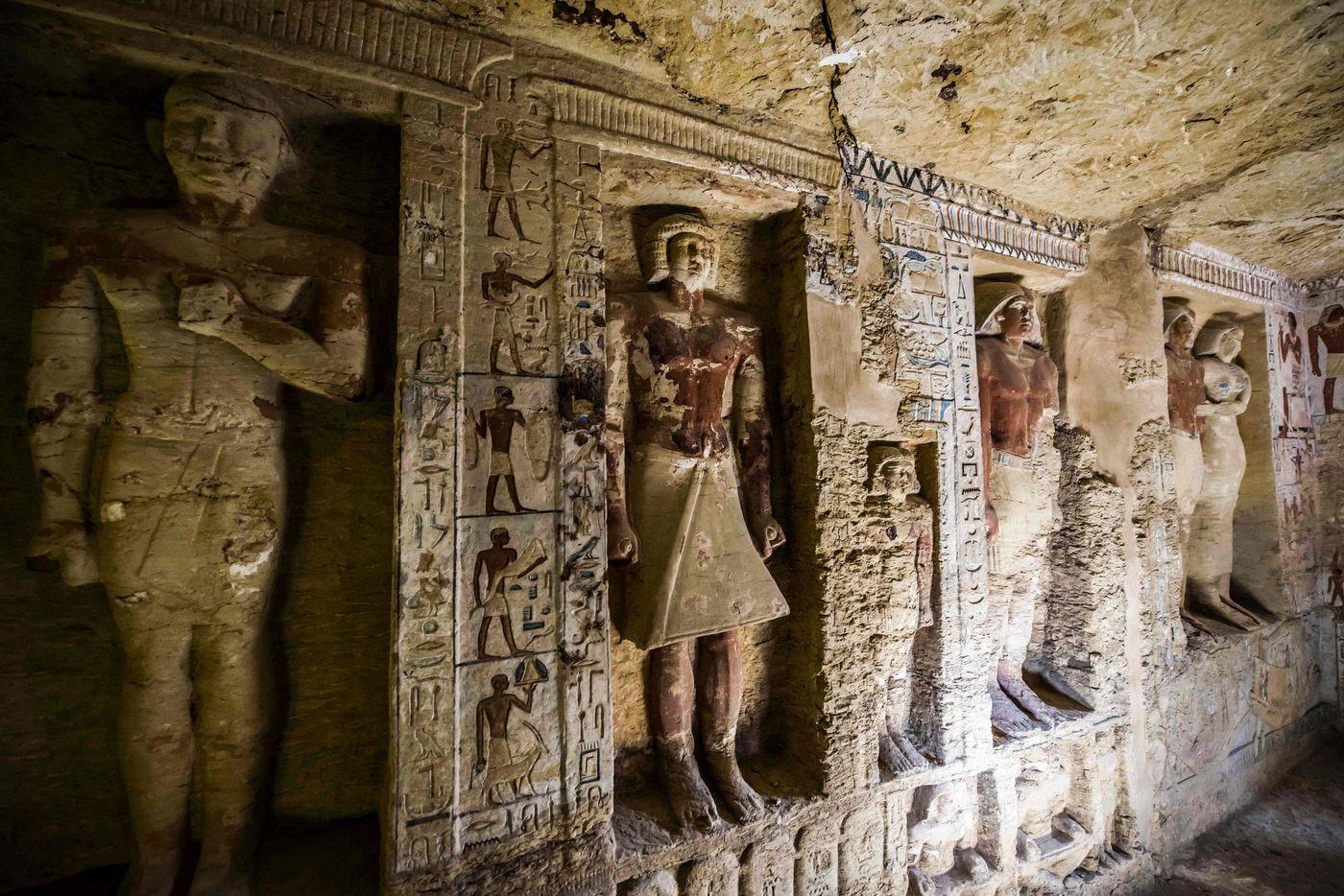 السياحةوالأثار: تطلق فيلم قصير عن الأكتشاف الأثري الجديد بسقارة- شاهد
