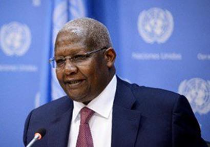رئيس الجمعية العامة للأمم المتحدة سام كوتيسا