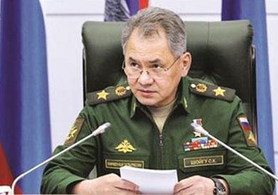 سيرجي شويجو وزير الدفاع الروسى