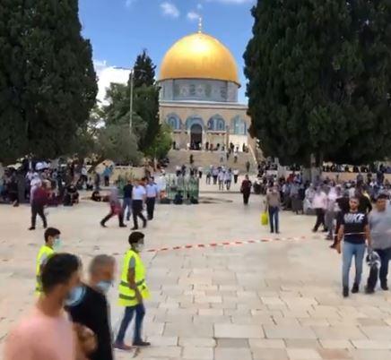 الأوقاف الإسلامية في القدس: مستوطنون متطرفون يقتحمون باحات المسجد الأقصى
