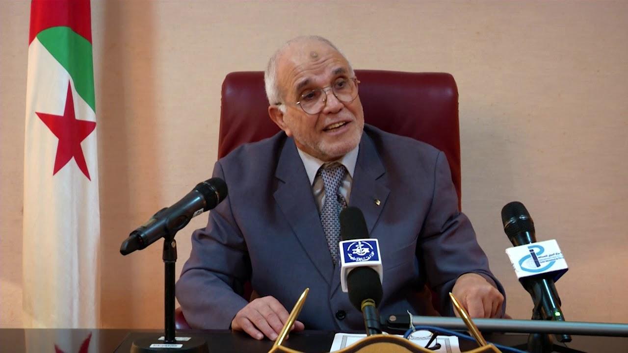 محمد شرفي رئيس السلطة المستقلة للانتخابات بالجزائر