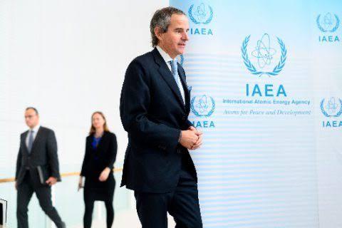 رافائيل جروسي المدير العام للوكالة الدولية للطاقة الذرية