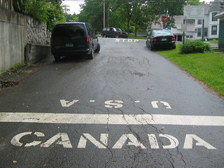 الحدود الأمريكية الكندية