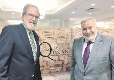 قصقص والباحث دايفيد هنجرفورد تعاونا سويا في إعداد كتاب يربط بين بعض آيات القرآن والأنجيل