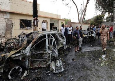 جانب من أعمال العنف في ليبيا - أرشيفية