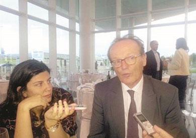 برونو كاريه الرئيس التنفيذى لـ«السويس للأسمنت»