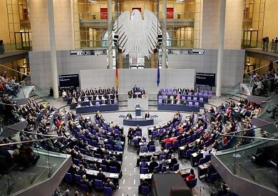 جلسة سابقة في البرلمان الألماني