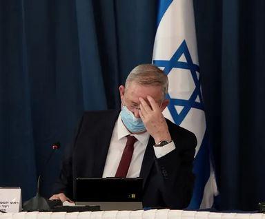 وزير الدفاع الإسرائيلي بيني جانتس