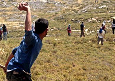 اشتباكات بين فلسطينيين ومستوطنين اسرائيليين ـ أرشيفية