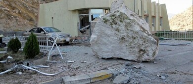 هزة أرضية بقوة 5.6 درجة بالقرب من الحدود العراقية الإيرانية
