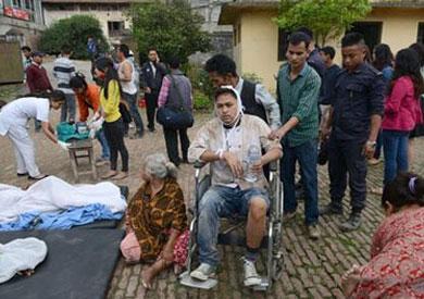 الحالة الإنسانية تزداد سوء في نبيال جراء الزلزال المدمر الذي ضربها أمس الأول