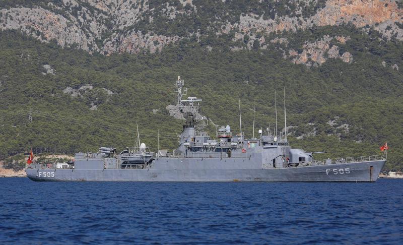 تركيا في البحر المتوسط - ارشيفية