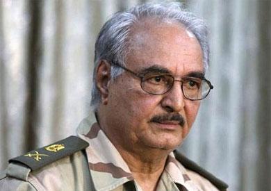 خليفة حفتر قائد الجيش الوطني الليبي