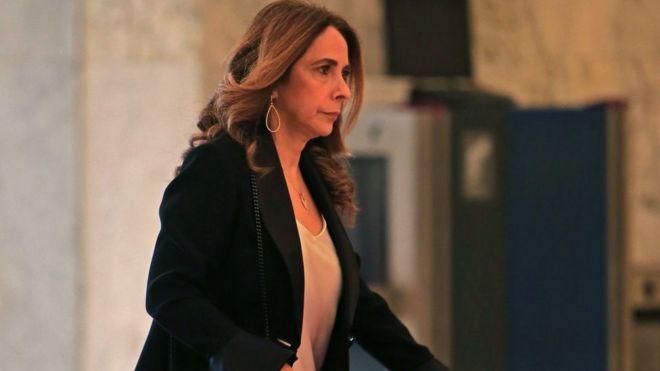 نائبة رئيس الوزراء وزيرة الدفاع اللبنانية زينة عكر