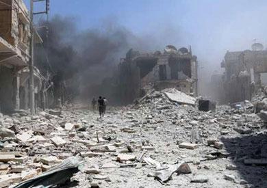 قصف متبادل بين قوات النظام والفصائل المعارضة في حلب