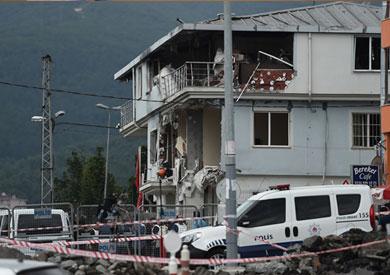 الهجوم على مركز للشرطة في غازي عنتاب بتركيا