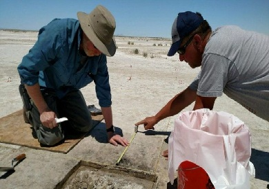 وجد علماء الآثار البذور في صحراء سولت لايك