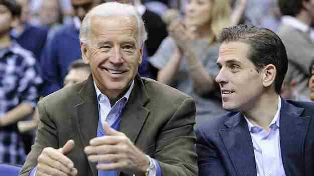 لم يعلق جو بايدن على تسريح نجله