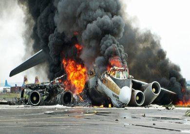 تحطم طائرة - صورة أرشيفية