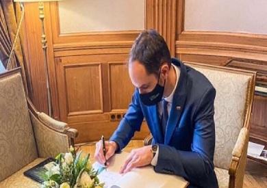 وزير خارجية سلوفينيا بكورونا