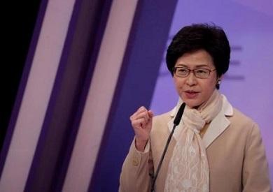 """الرئيسة التنفيذية لمنطقة هونج كونج الإدارية الخاصة """"كاري لام"""""""