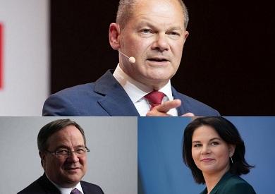 المرشحون الثلاثة الذين يتنافسون على خلافة أنجيلا ميركل