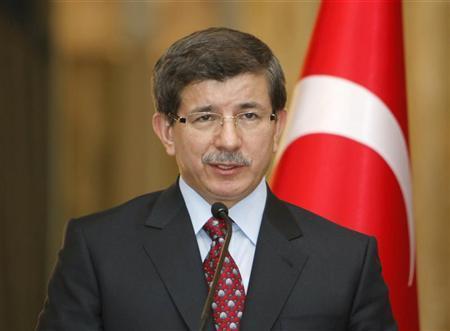 وزير الخارجية التركي أحمد داوود أوغلو- ارشيفية