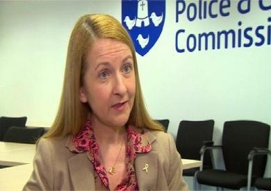كيتي بورن مفوضة الشرطة والجريمة في ساسيكس