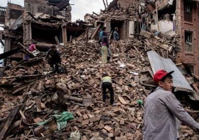 انهيار في نيبال - ارشيفية