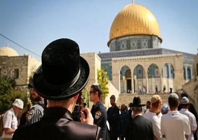 مستوطنون يقتحمون المسجد الأقصى ويؤدون صلوات تلمودية