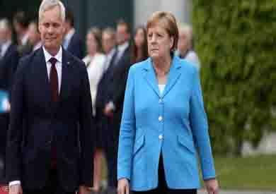 رئيس وزراء فنلندا وميركل