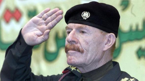 نائب الرئيس العراقي الراحل، عزة إبراهيم الدوري