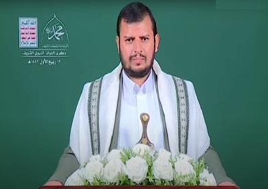 زعيم جماعة أنصار الله الحوثية في اليمن عبد الملك الحوثي