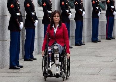 تامي داكوورث شاركت في حرب العراق