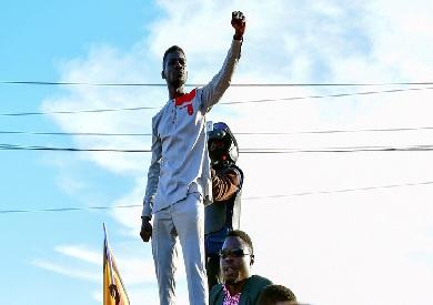 المرشح الرئاسي الأوغندي بوبي واين