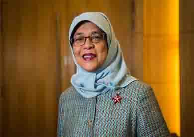 حليمة يعقوب رئيسة سنغافورة