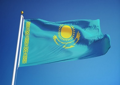 علم كازاخستان