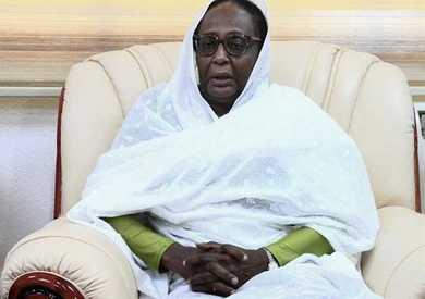 أسماء عبدالله وزيرة الخارجية السودانية