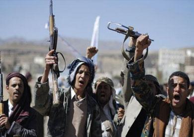 المتمردين الحوثيين