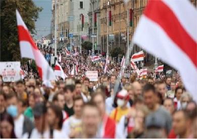 مظاهرات بيلاروسيا
