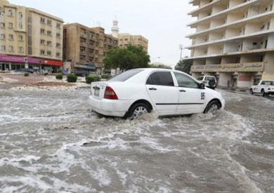 أمطار غزيرة، غير اعتيادية، تساقطت على العاصمة القطرية الدوحة