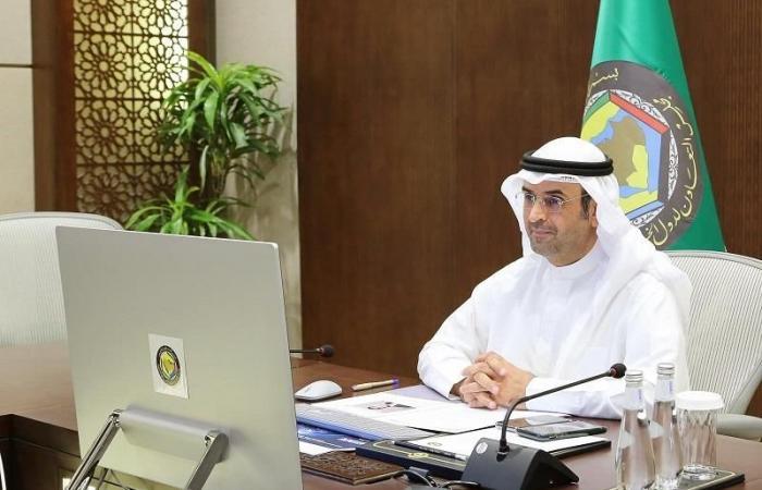 الأمين العام لمجلس التعاون لدول الخليج العربية الدكتور نايف فلاح مبارك الحجرف