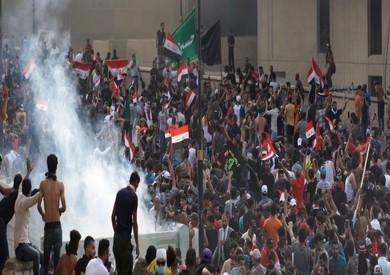 مظاهرات شعبية في بغداد
