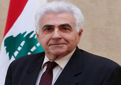 م وزير الخارجية اللبناني ناصيف حتي