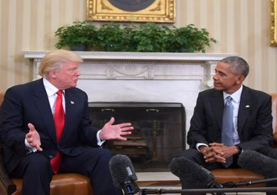 أوباما وترامب