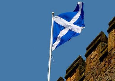 علم اسكتلندا