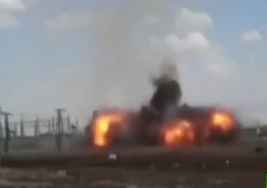 سقوط قذيفة صاروخية على الحدود التركية الروسية