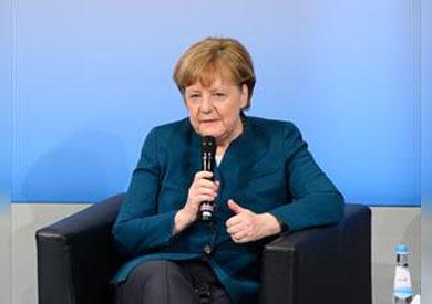 المستشارة الألمانية _ انغيلا ميركل