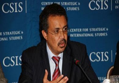 مدير منظمة الصحة العالمية  تادروس ادهانوم